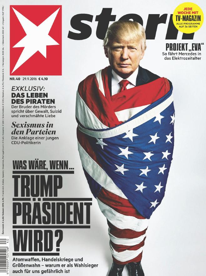 stern Magazin No. 40 - 29. September 2016