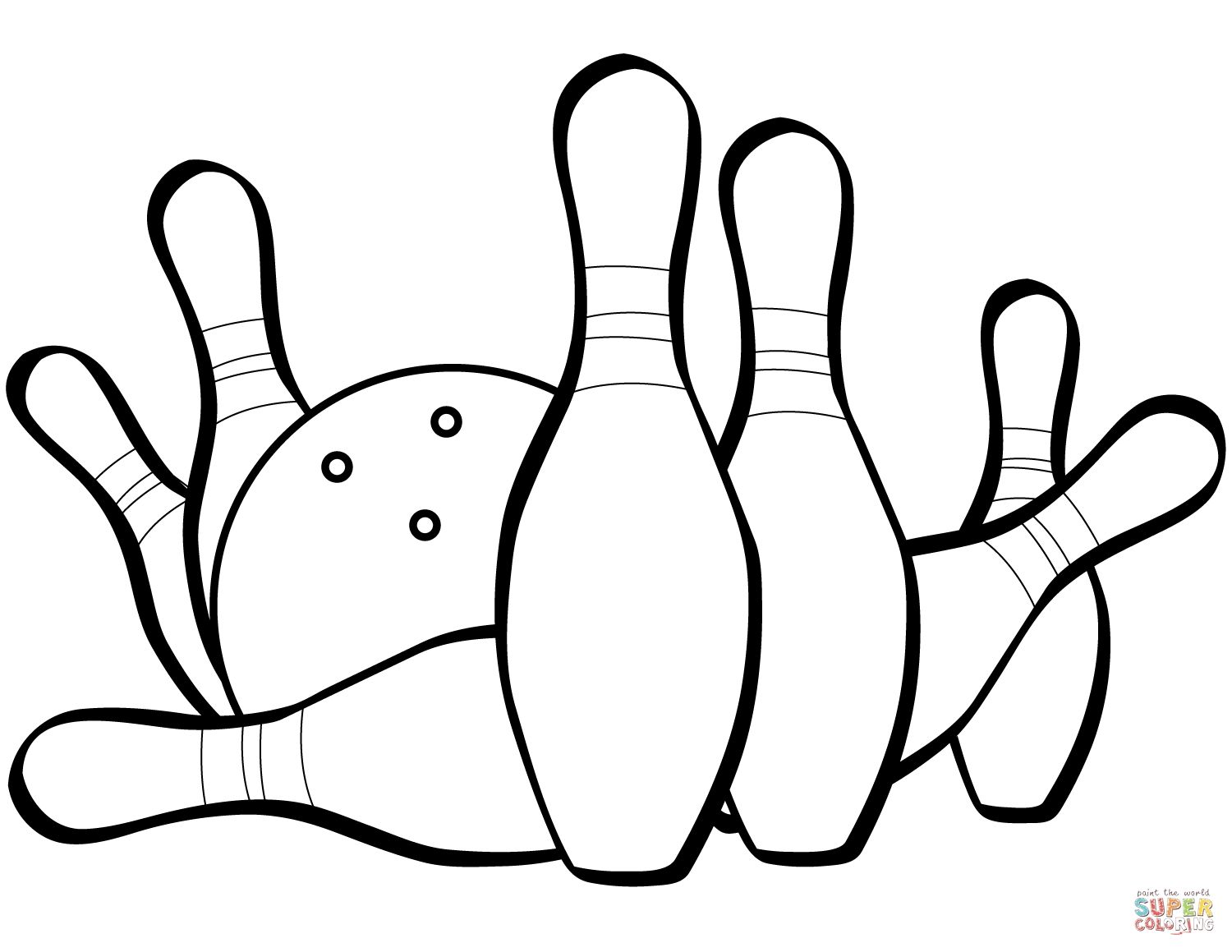Bowling Coloring Pages Free To Color Coloring Pages Coloring Pages Inspirational Star Coloring Pages