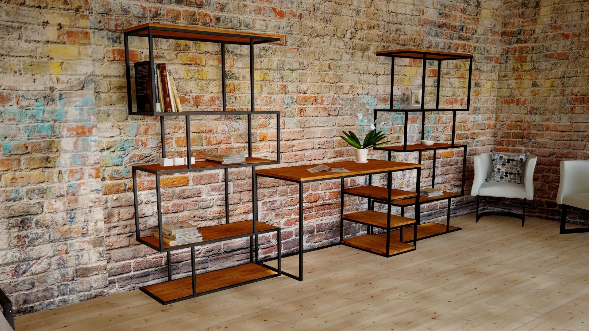 Bookcase Book Shelves Office Equipment Office Furniture