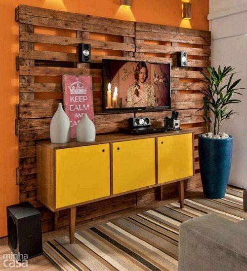 Reciclado de palets ideas para tu hogar Pallets, Tv panel and