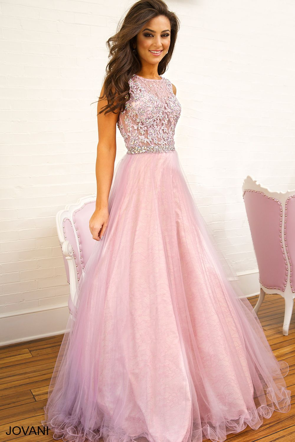 Purple Sleeveless Ballgown 92020 | Prom | Pinterest | Prom, Gowns ...