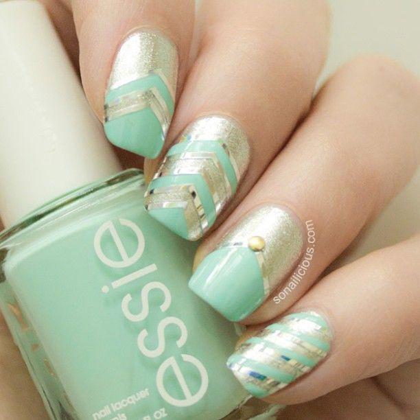 Choice nail art | Disenos de Unas | Pinterest