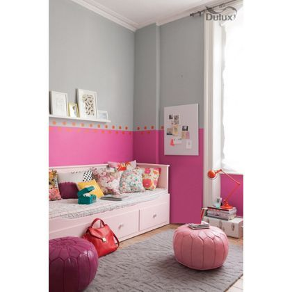 Fuschia Lily Dulux paint - available now at Homebase in store and ...