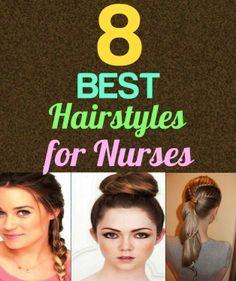 8 Best Hairstyles For Nursing Clinicals Nurse Hairstyles Cool Hairstyles Hair Styles