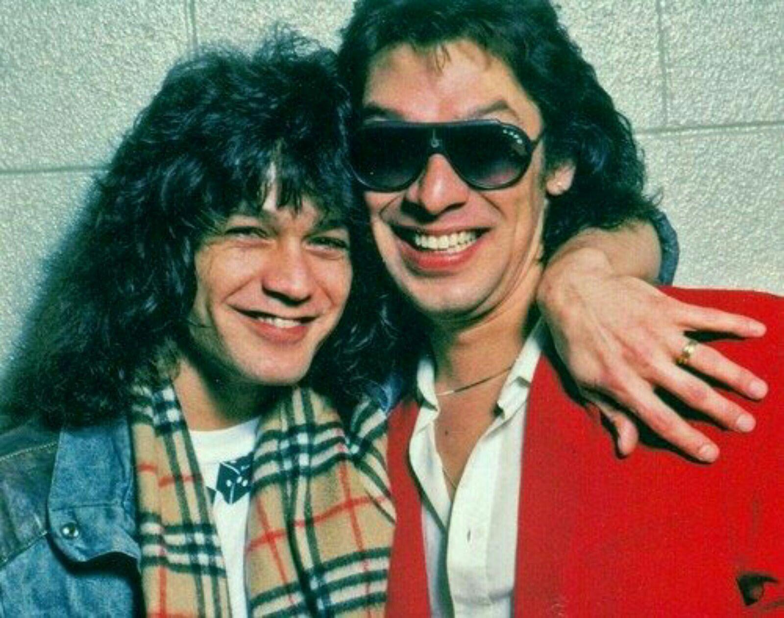 Eddie Alex 3 With Images Van Halen Alex Van Halen Eddie Van Halen
