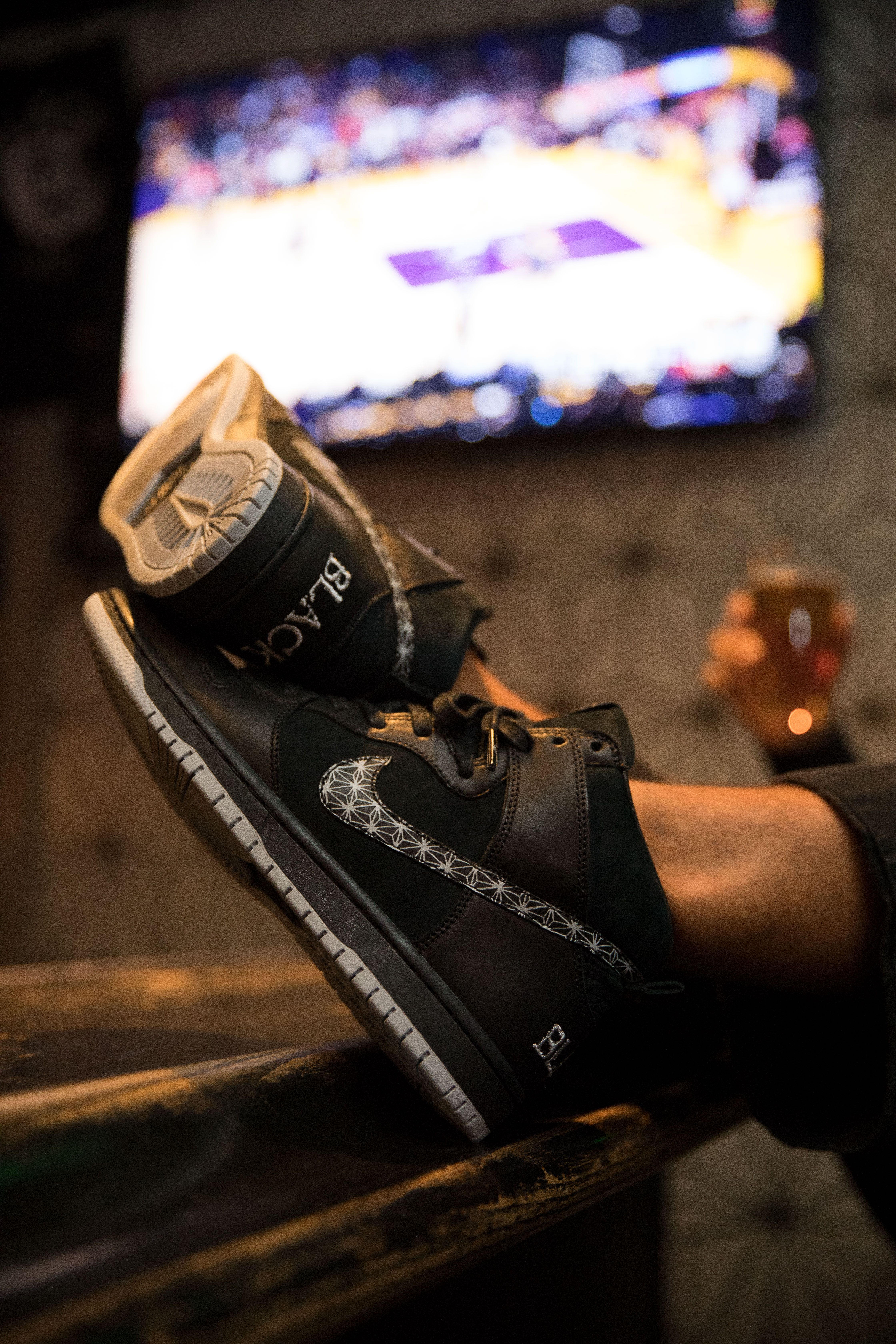 8f7de25a7b1974 Nike SB x Black Bar Dunk ◼️Exclusively built for skateboarding - the new Nike  SB x Black Bar Dunk High QS◼ ⠀ ⠀  SK8DLX ⠀  skatedeluxe