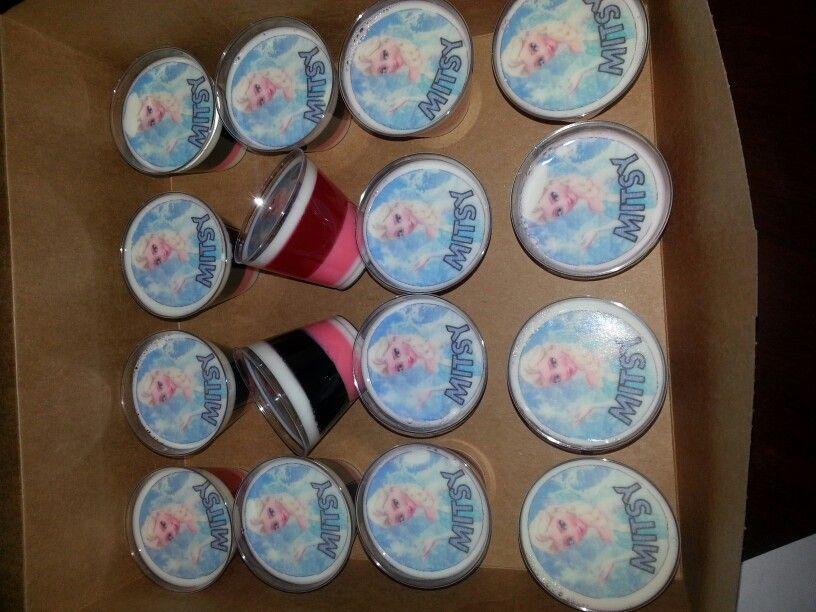 Gelatinas transfer frozen gelatinas transfer pinterest - Moldes para gelatina ...