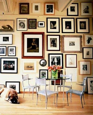 Gallery Wall Apartment Therapy