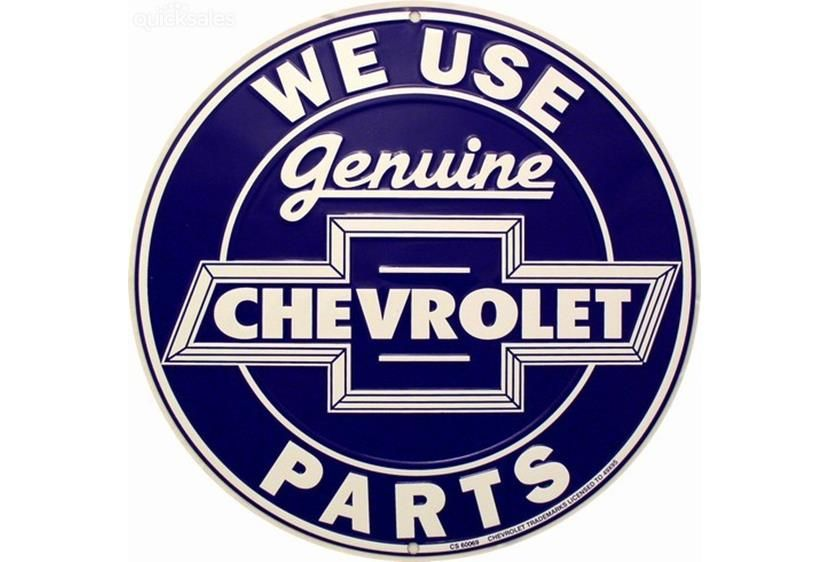 Chevy Signs On Pintrest We Use Genuine Chevrolet Parts Circular