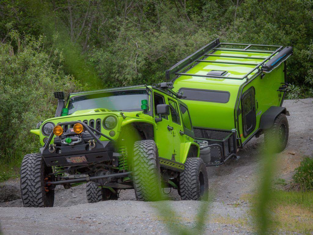 Bear Teardrop Trailer Survival Vehicle Pinterest Jeep Wrangler Camper Knife Vehicles