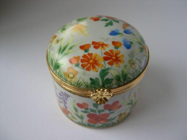 Tiffany Co Private Stock Porcelain Trinket Box Le Tallec Limoges France