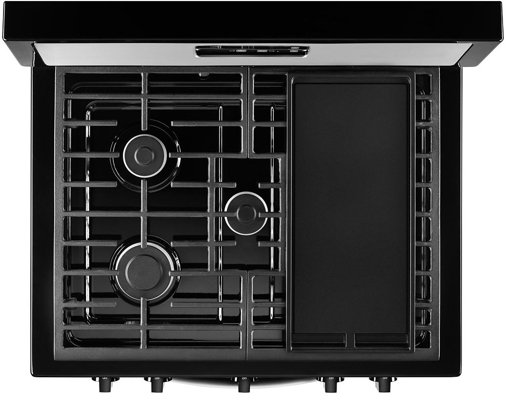 Whirlpool 5 1 Cu Ft Freestanding Gas Range Stainless Steel