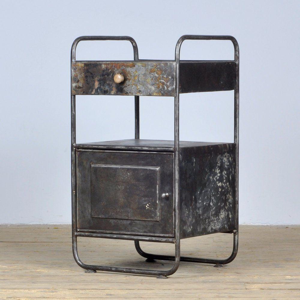 Vintage Nightstand 1920s H76 X L42 X P38 Cm Vntg 145 2020