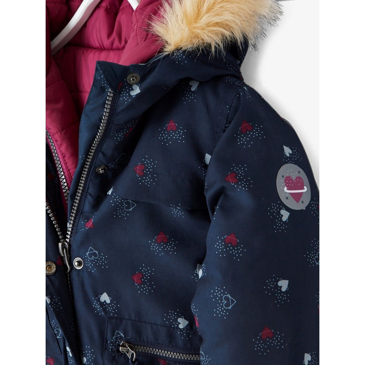 many fashionable shop best sellers 100% authentic Parka fille 3 en 1 doublée polaire | Products | Parka fille ...