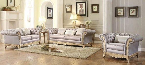 Chambord 3pc Living Room Set in 2018 Furniture Uk Pinterest