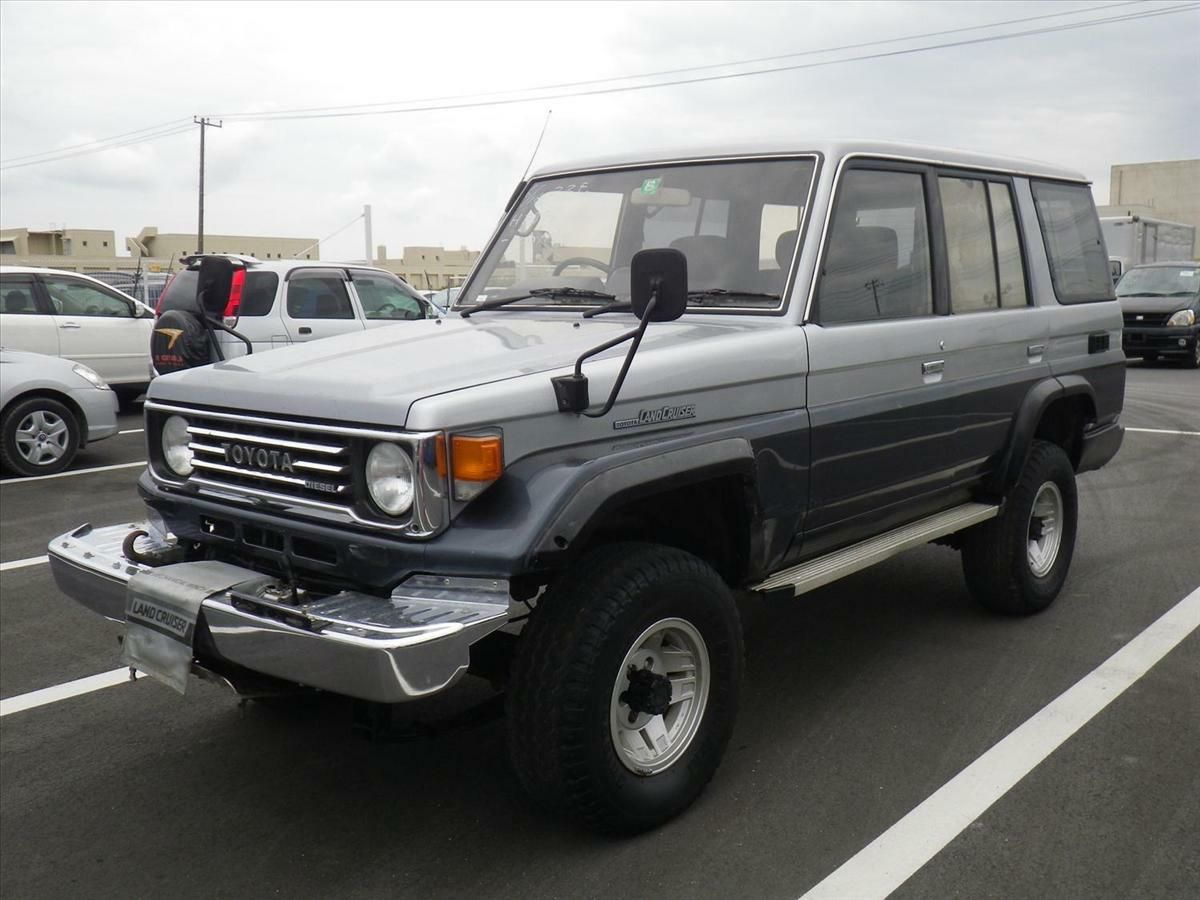 For 1 year toyota japan gets a brand new 30 year old land cruiser 30th anniversary toyota and land cruiser