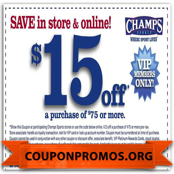 Champs Sports Promo Codes October 12222