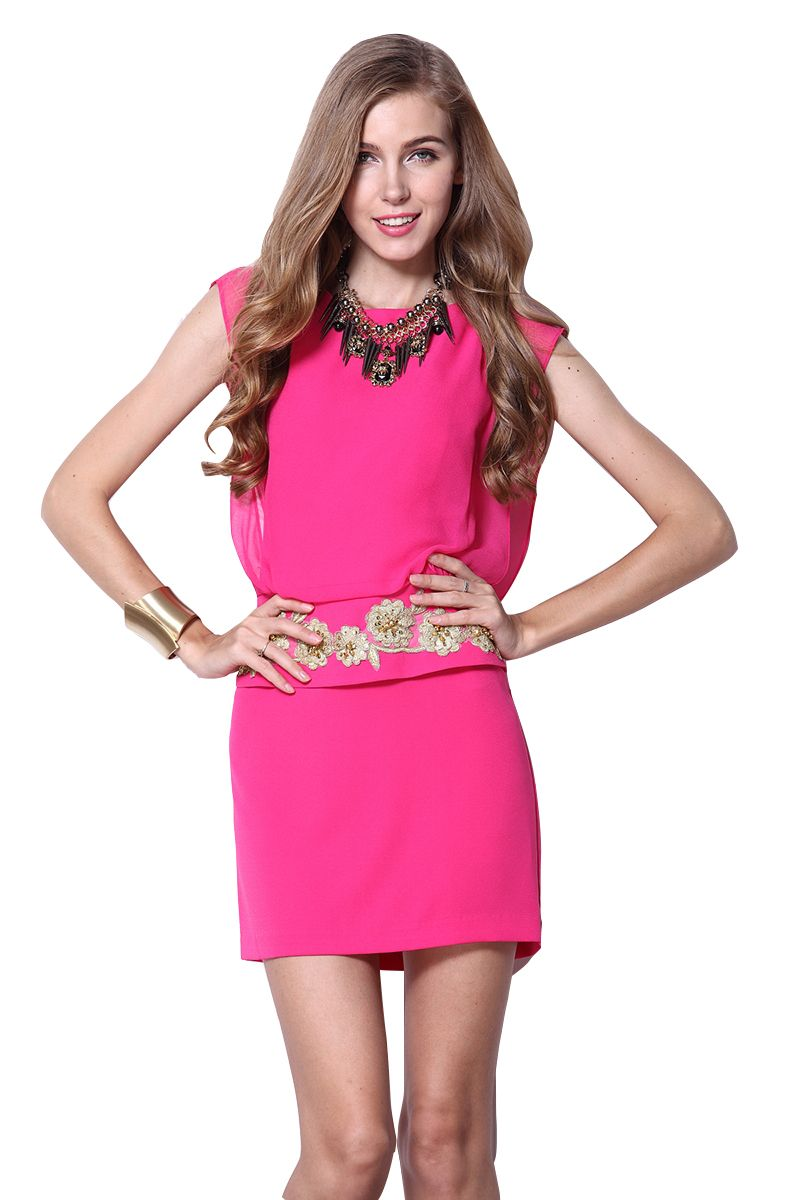 love this cute pink dress | Fashionista | Pinterest | Vestido ...