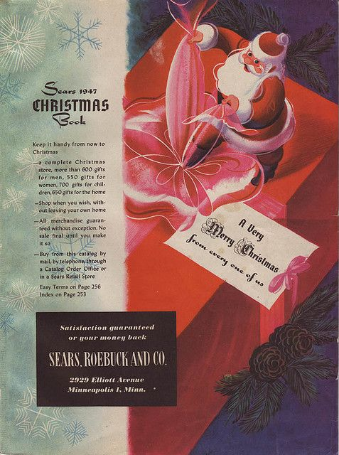 1947 Sears Christmas Book | Sears, Roebuck & Co  | Christmas