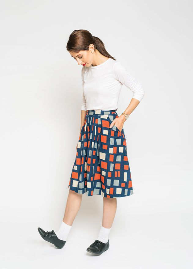 Free vintage skirt sewing pattern - Peppermint | Sewing for Woman ...