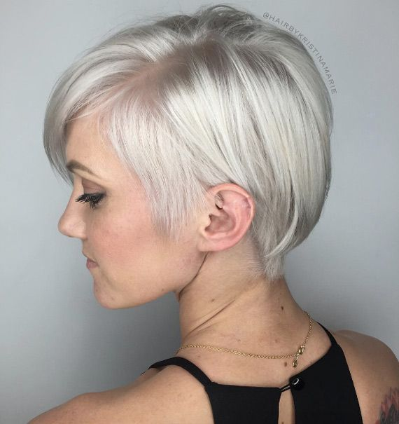 40 Short Summer Haircuts For Women With Fine Hair Modern Short Hairstyles Fine Hair Short Bob Hairstyles