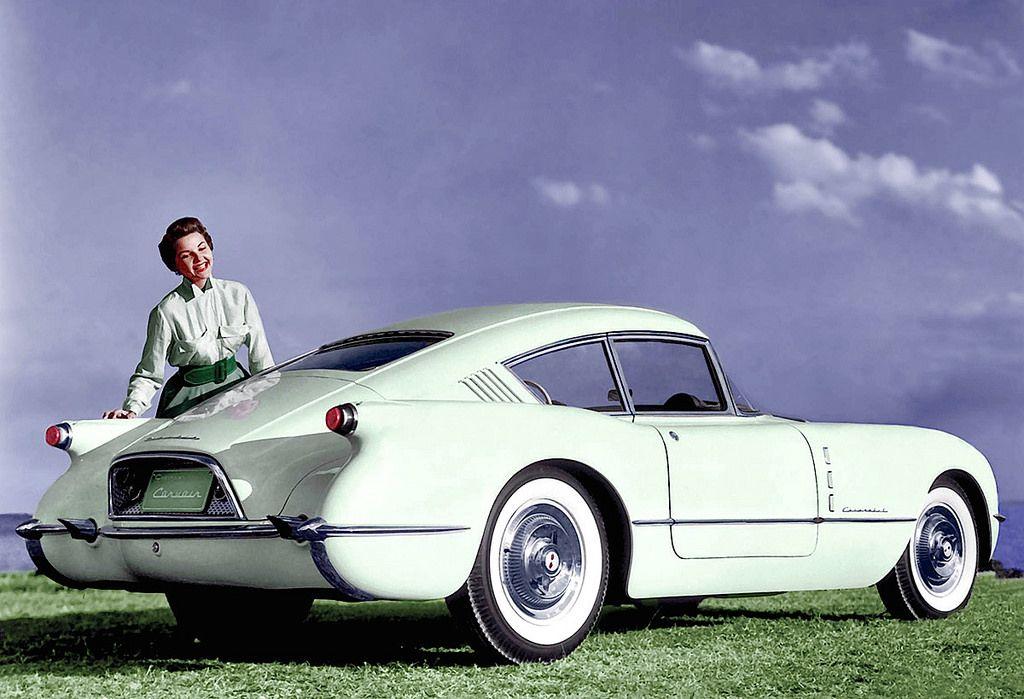 1953 Chevrolet Corvair Concept car Concept cars, Classic