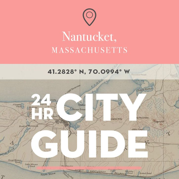 Nearly 30 miles into the North Atlantic (and seemingly a world away from the Massachusetts mainland), today's city guide brings us to the enchanted enclave of Nantucket Island. Once the whaling capita