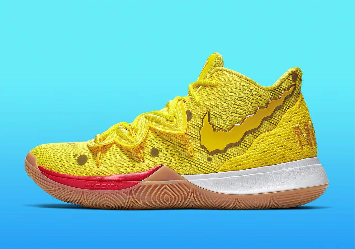 Details about Nike Spongebob Squarepants Kyrie 5 Size 17