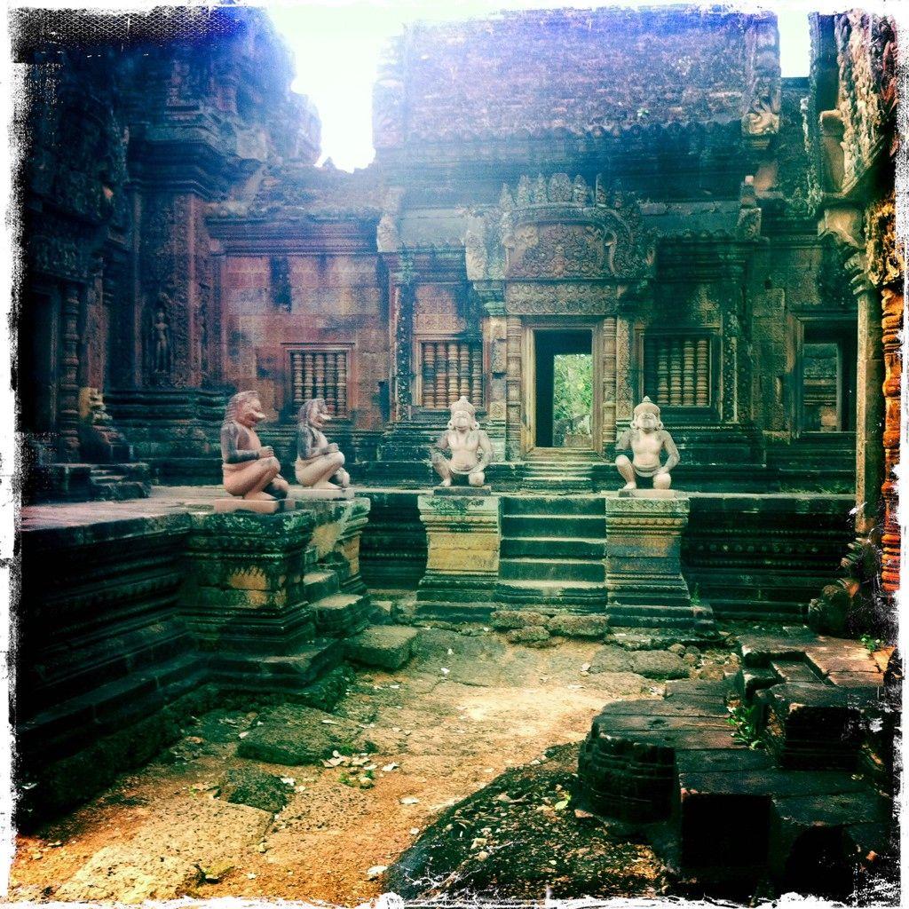 stopaltempo Cambodia temples; foto © Giulia Caporicci