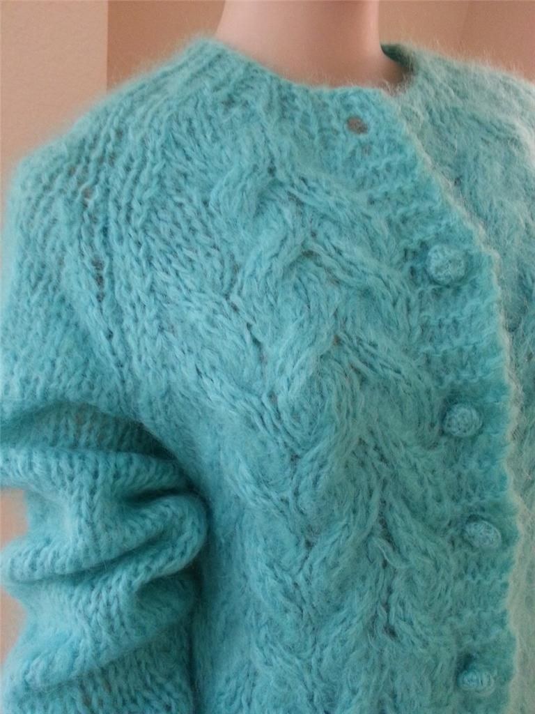 Vintage Mohair Cardy From Italy Sweaters And More