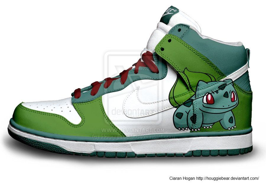 Bulbasaur Nike Dunks