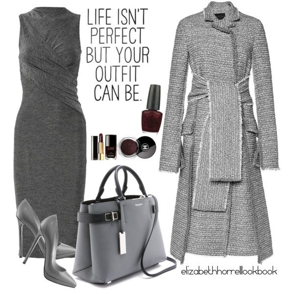 LIZ by elizabethhorrell on Polyvore featuring T By Alexander Wang, Proenza Schouler, Michael Kors, OPI, Christian Louboutin, Chanel and Stella & Dot