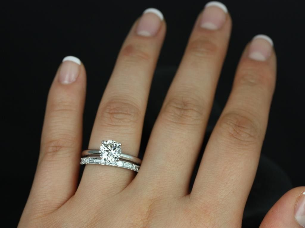 Solitaire Wedding Ring Sets Solitaire wedding set ERings