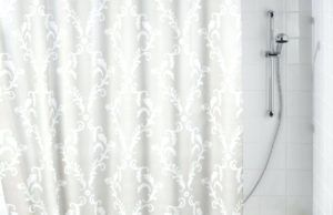 Clear Plastic Shower Curtain Rod Cover