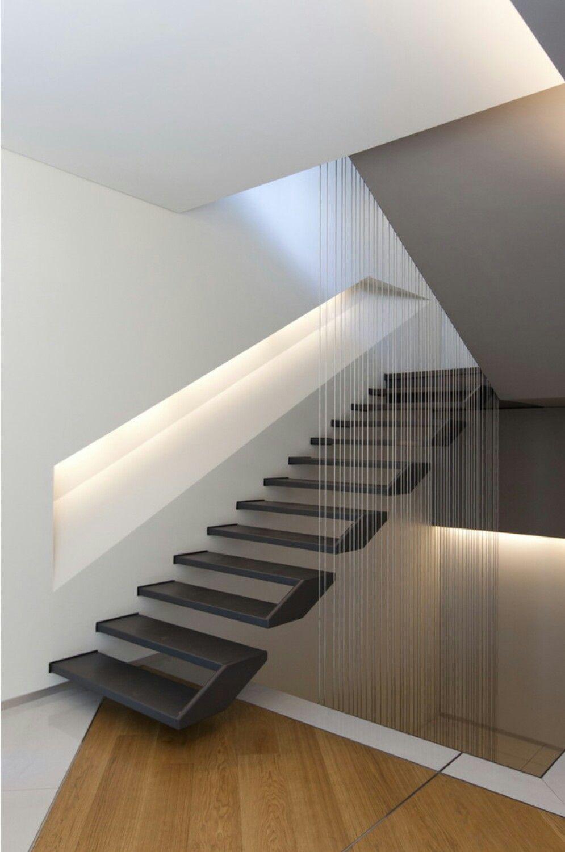 Pin De Kathy Romita En Stairs Pinterest Escalera Dise O De La  ~ Materiales Para Peldaños De Escaleras Interiores