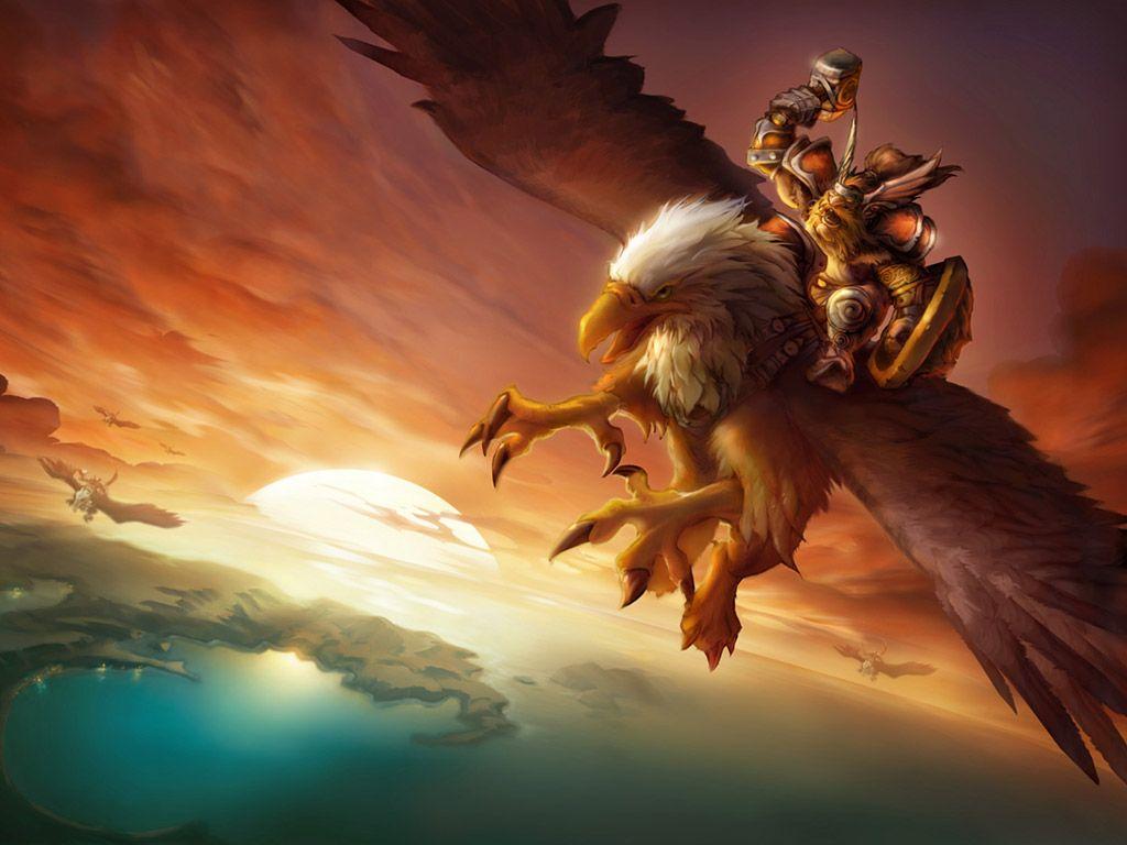 Dwarven Gryphon Rider Warcraft Art World Of Warcraft Warcraft