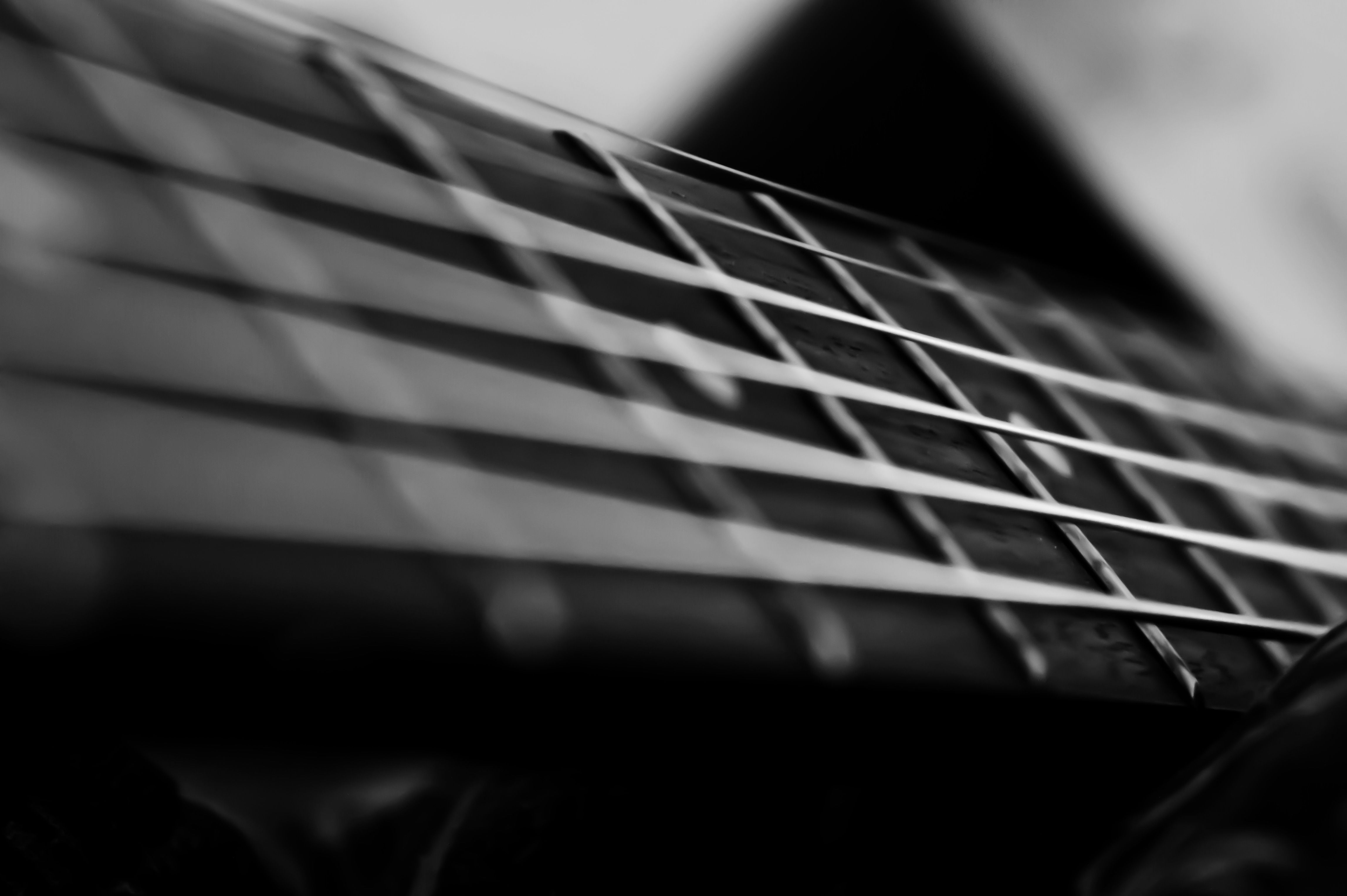 Bright Strings Dark Wood Acoustic Guitar PhotographyAcoustic