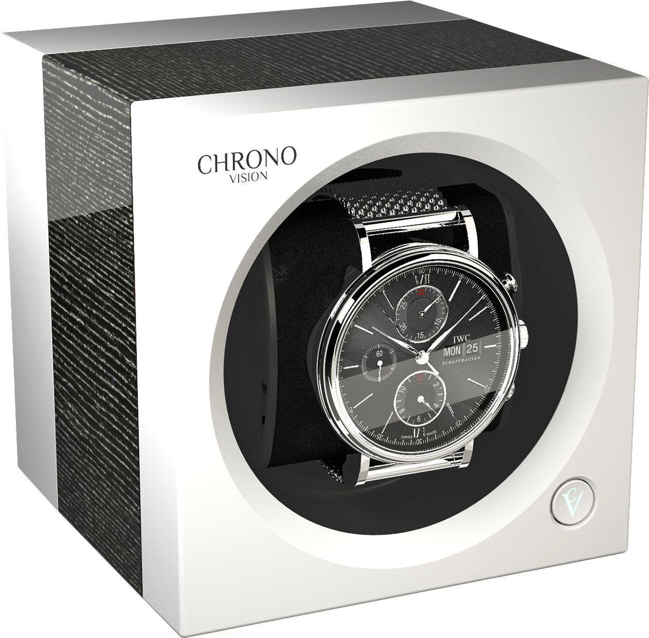 Chronovision One Argento High Gloss / White Silk 70050