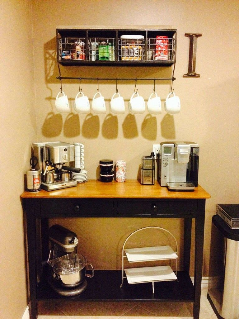 remarkable diy best corner coffee bar ideas for your home also decor images in rh pinterest