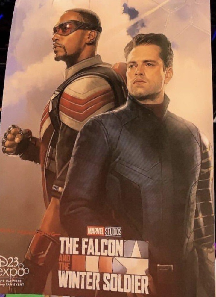 Poster Art For Marvel's THE FALCON AND THE WINTER SOLDIER ...