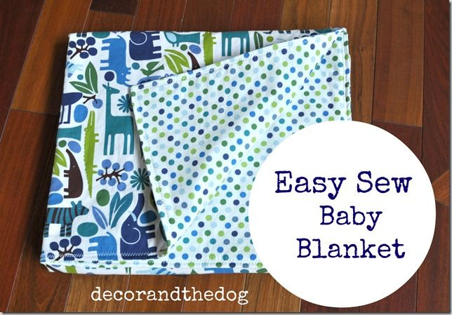 Easy Baby Gifts | Sew baby blankets, Sew baby and Blanket