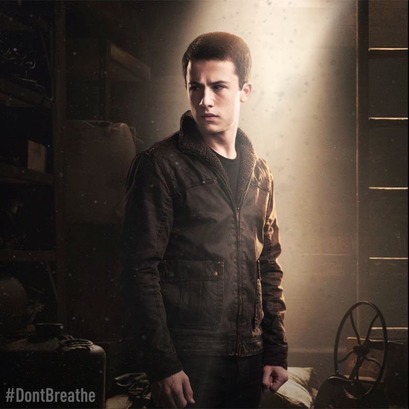 Dylan Minnette in Don't Breathe   Thirteen reasons why, 13 ...