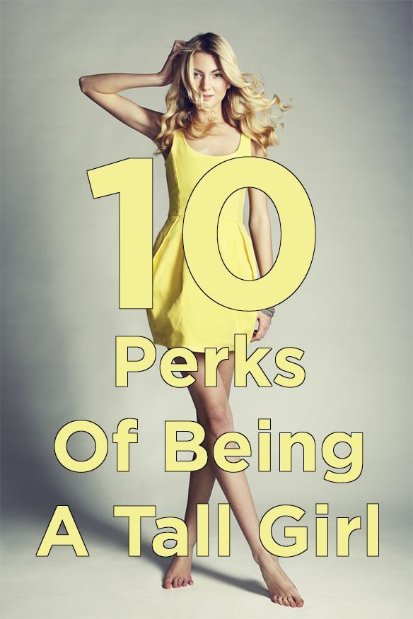 10 Perks Of Being A Tall Girl | Thought Catalog