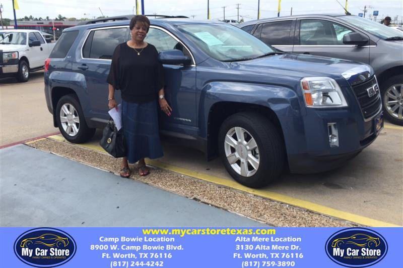 Congratulations Wanda on your GMC Terrain from Lafayette
