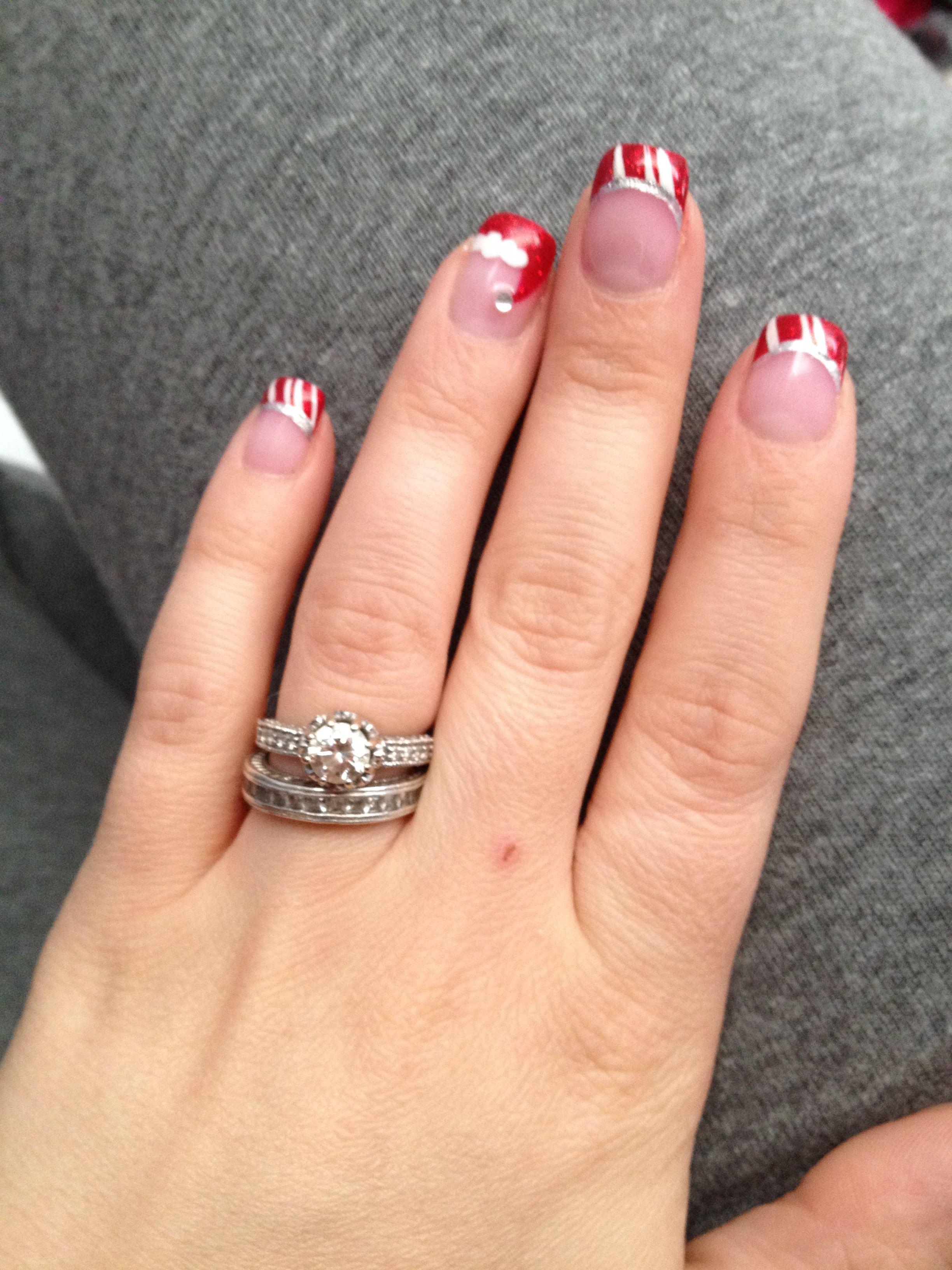 Holiday nails!!!