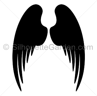 Angel Wings Silhouette Angel Wing Silhouette Silhouette Clip Art Angel Images