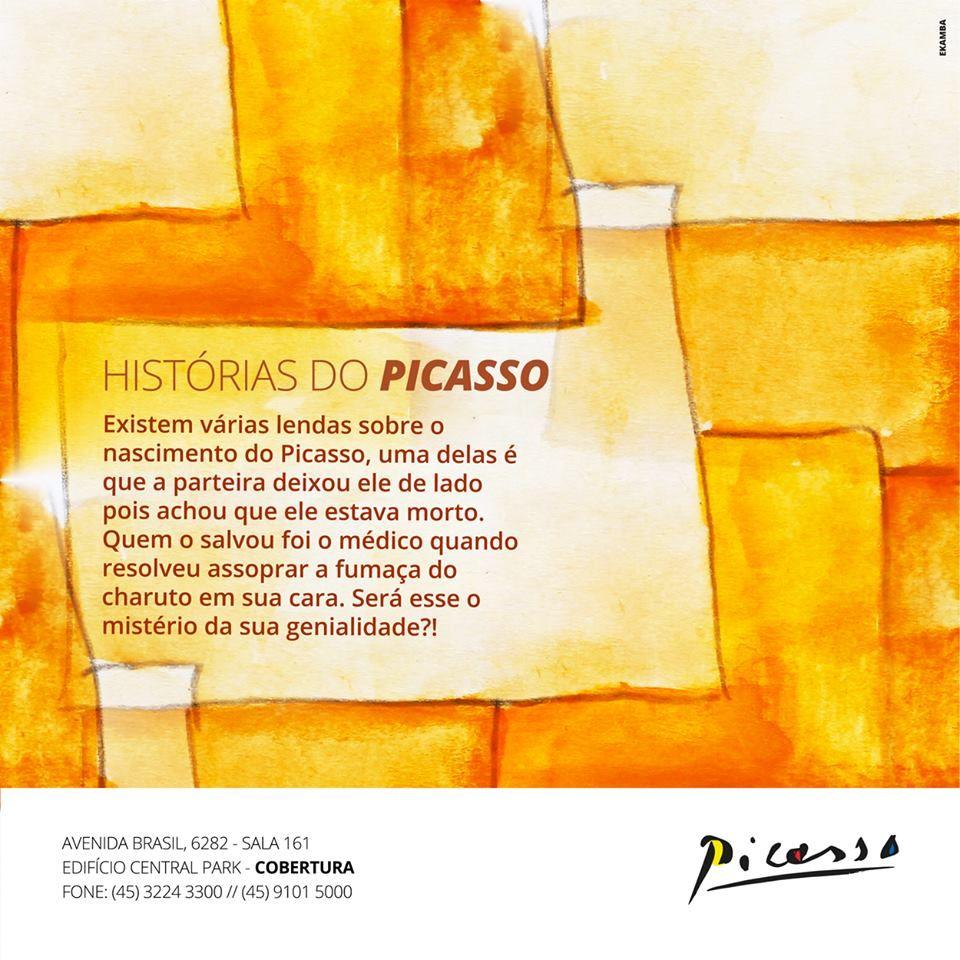 Série Histórias do Picasso - Campanha para Facebook - Restaurante Picasso