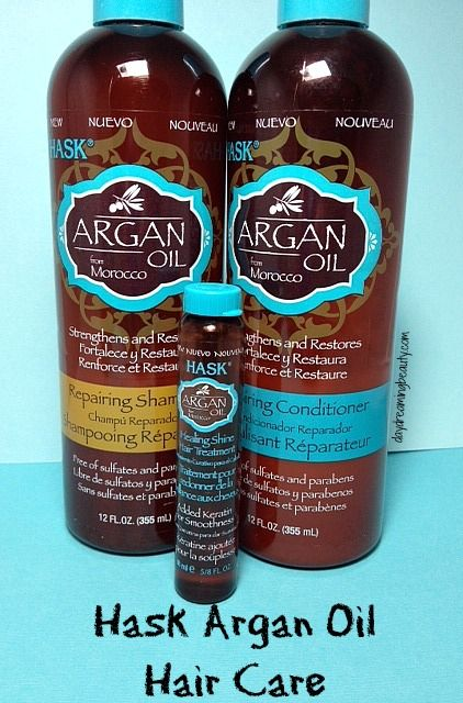 Hask Argan Oil Crueltyfree Sulfate Free Shampoo And Conditioner Daydreamingbeauty