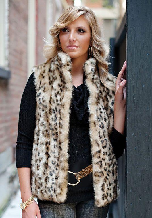 Ex New Look Leopard//Animal Print Stretch Zip Pocket Vest Top Sizes 6-18