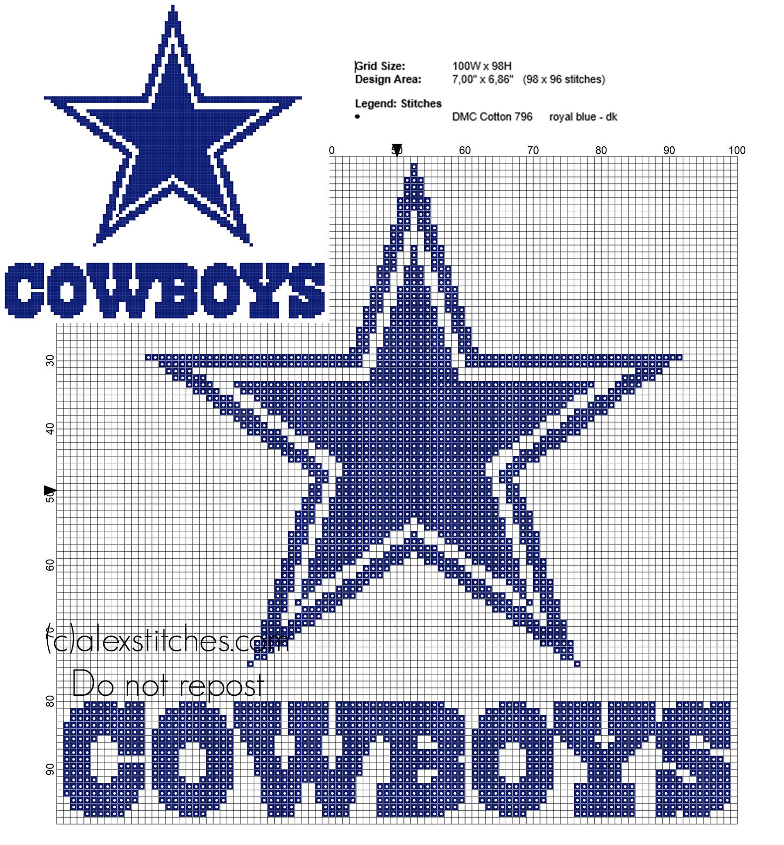 Dallas Cowboys NFL National Football League team logo free cross ...
